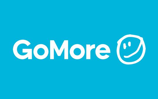 Press logo white gomore