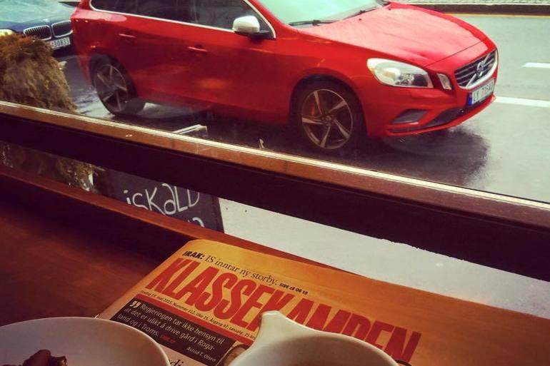 Billig leie av Volvo V60 med fet lyd med CD-spiller nærheten av 0186 Oslo.