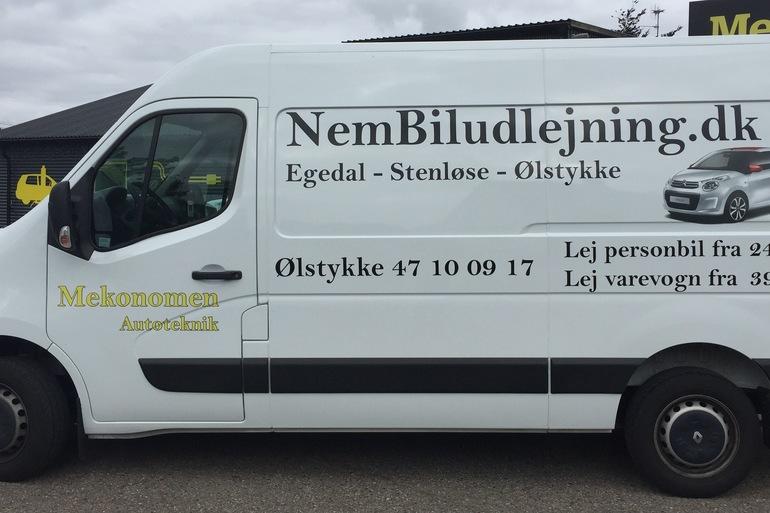 Lej en Renault Master 2,2 nær Ølstykke til 650 kr/dag | GoMore
