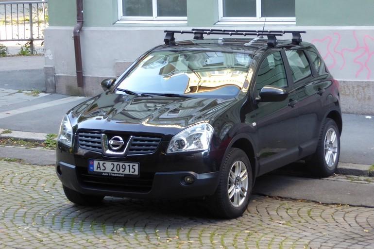 Billig leie av Qashqai Nissan med GPS nærheten av 0558 Oslo.