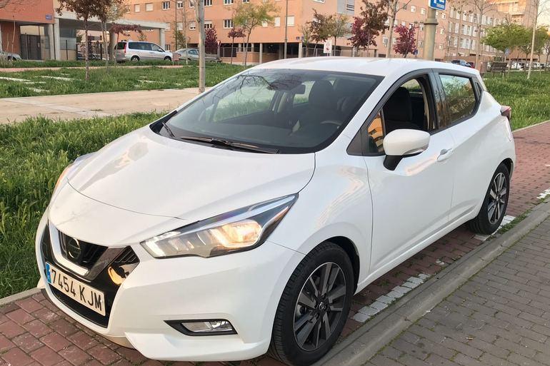 Alquiler barato de Nissan Micra 1.2 80 Acenta Plus cerca de 28012 Madrid.