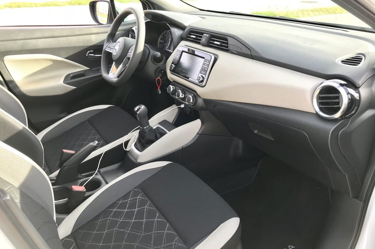 Alquiler barato de Nissan Micra 1.2 80 Acenta Plus con equipamiento Elevalunas eléctricos  cerca de 28012 Madrid.
