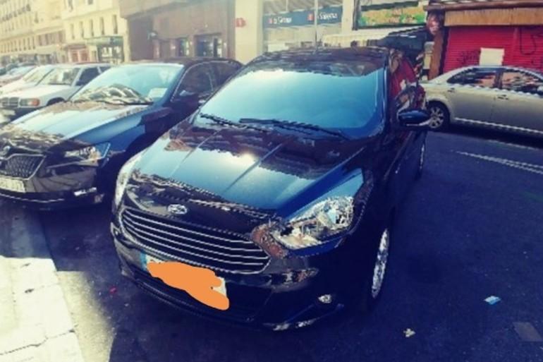 Alquiler barato de Ford Ka 1.2 Trend+ con equipamiento Lector DVD cerca de 28027 Madrid.