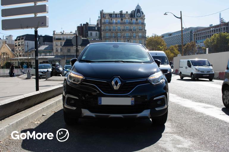 Location économique de voiture de Renault Captur avec Fixation Isofix proche de 75012 Paris-12E-Arrondissement.