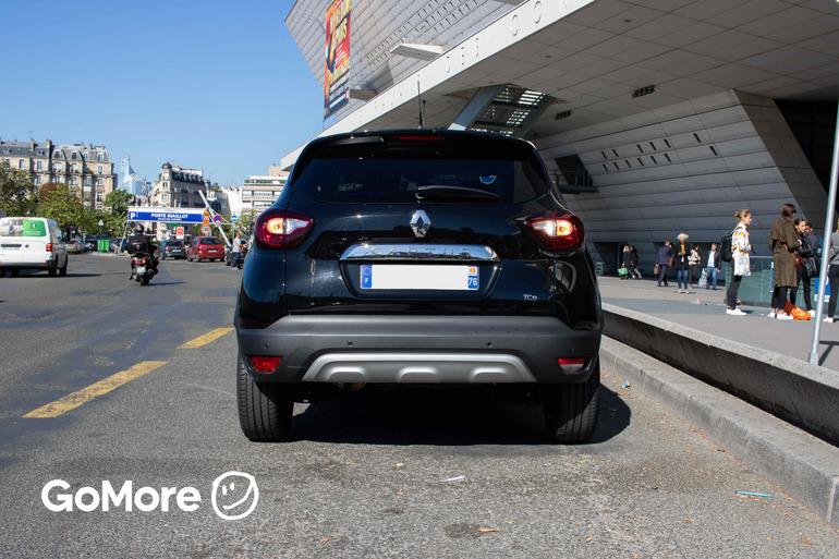 Location économique de voiture de Renault Captur avec Bluetooth proche de 75012 Paris-12E-Arrondissement.