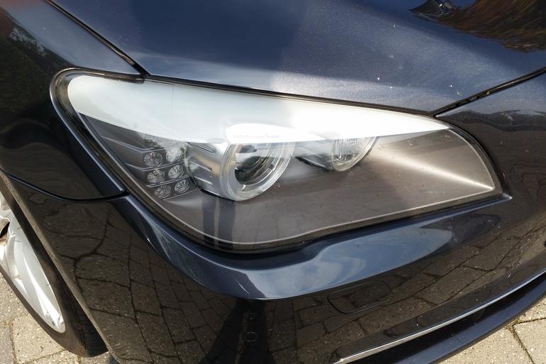Billig billeje af BMW 730D F01 med Vinterdæk nær 5230 Odense.
