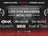 7º Live for Madness Metal Fest