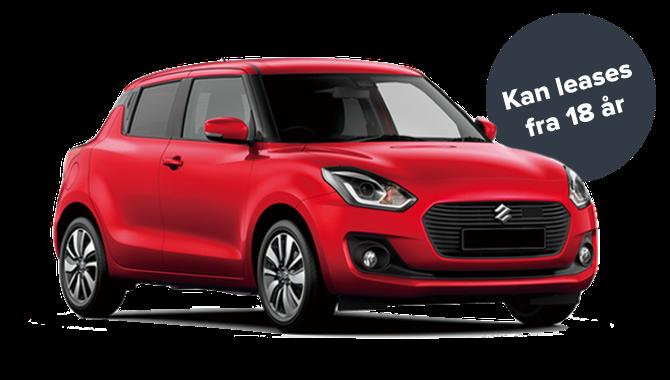 Billig privatleasing af Suzuki Swift 1,2 Dualjet Club | GoMore