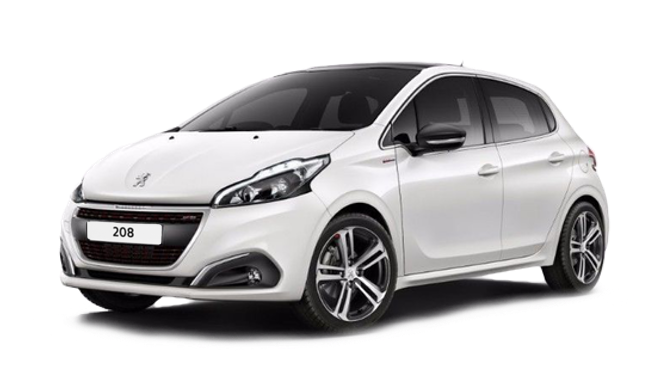 Billig privatleasing af Peugeot 208 Signature Sky 1.5 BlueHDi 100 HK  | GoMore